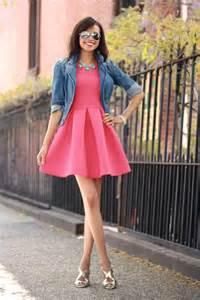 pink dress 16 ways to wear the pretty pink dress trends pretty designs