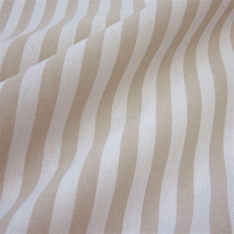 gardinen beige weiss gestreift stoff baumwolle beige wei 223 streifen 1cm gestreift
