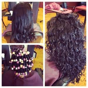 before and after photos of permant waves with frizzy hair spiral perm before and after yelp