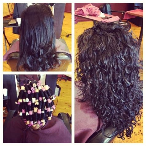 perms for hair before and after spiral perm before and after yelp