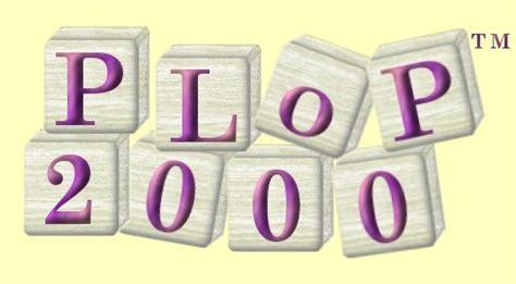 pattern languages of programs plop 2000