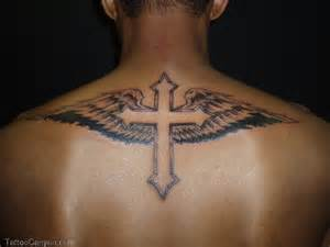 16681 body tattoo design cool cross tattoos with wings for man tattoo