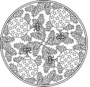 Christmas for adults free coloring pages