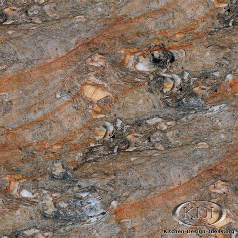 Brushed Granite Countertops by Blue Brushed Granite Kitchen Countertop Ideas