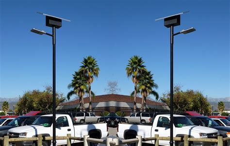 solar powered led parking lot lights parking lot lights solar powered led lights greenshine
