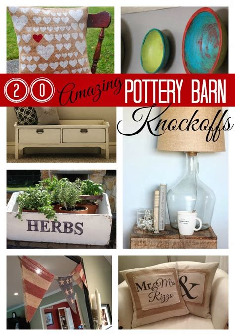 pottery barn diy projects 20 pottery barn knockoff diy projects