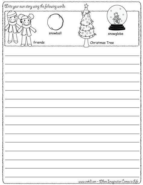 christmas writing activities for 2nd grade 1000 images about on snowflakes writing prompts and writing