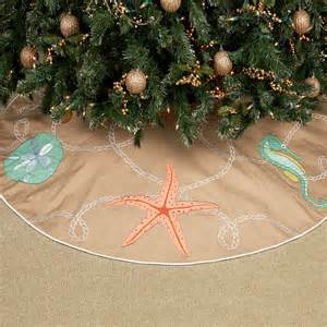 christmas ashore coastal tree skirt