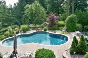 in ground pool ideas inground swimming pools for small backyards home round