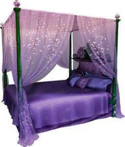 purple bed magical purple canopy bed set from wishwall me bedroomlove