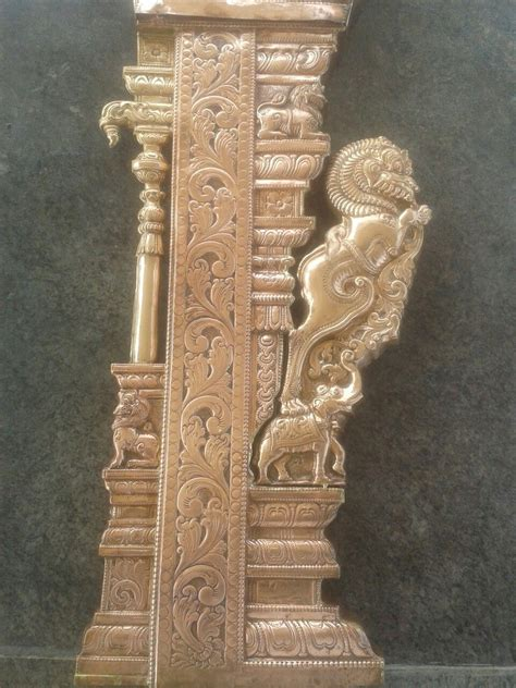 yall pillar temple art indian sculpture stone pillars