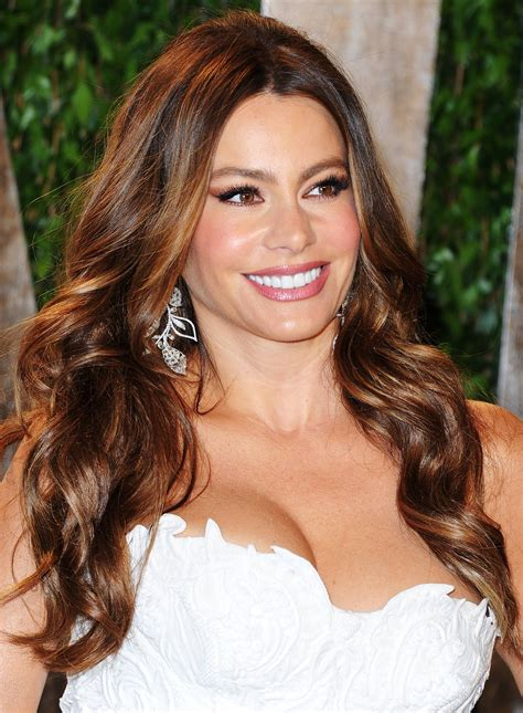 sofia vergara hair color celebrities exquisite hairstyles flaunted by fashion