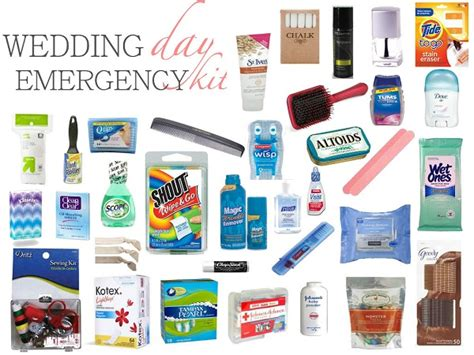 Wedding Planner Emergency Kit by How To Create The Ultimate Wedding Day Emergency Kit