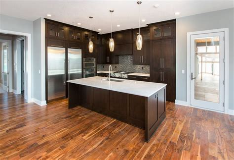 White Cupboards With Wood Trim - top 58 ideas about acacia flooring on acacia