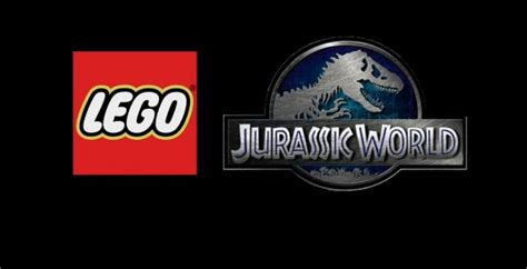 lego jurassic world logo lego jurassic world game covers all 4 movies slashgear