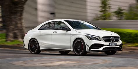 mercedes reviews 2017 mercedes amg cla45 review caradvice