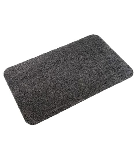 The Mat Pack by Globincs Food Industries Black Cotton Floor Mat Pack Of