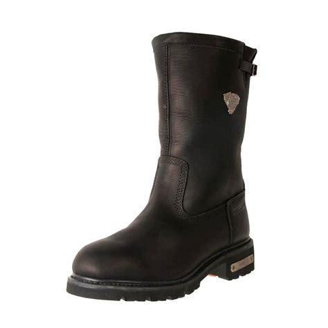 cheap leather biker boots new jonny reb men s tall leather waterproof warm