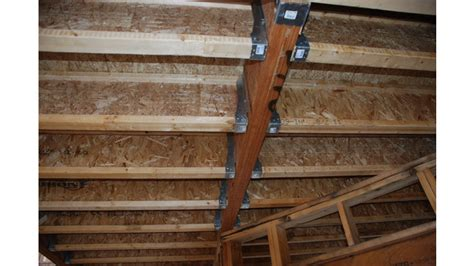 Engineered Floor Joists Engineered Floor Joists Beauteous 24 Inch Oc Engineered Lumber Floor Joist Internachi Inspection