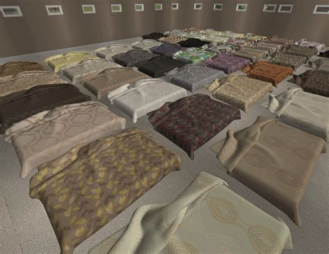mod 4 sims bed mod the sims 45 more recolours of jonesi s bed blanket
