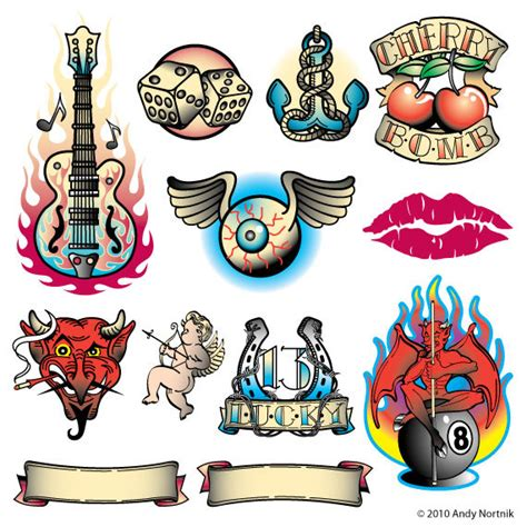 tattoo flash graphics tattoo clip art clipart personal or commercial use royalty
