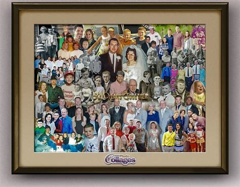 creative ways to make picture collages 7 best family picture collages images on