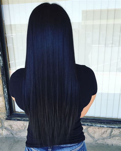 black blue hair color prefect black blue buns and updo s in 2019