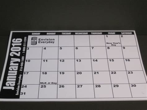 print desk calendar envisioneveryday