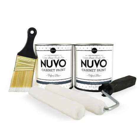 nuvo cabinet paint oxford blue nuvo oxford blue cabinet paint kit giani inc