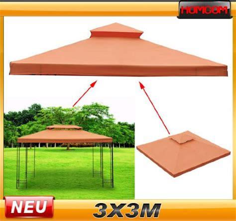 stabile pavillons 3x3m beste ersatzdach dach f 252 r metallpavillon metall pavillon