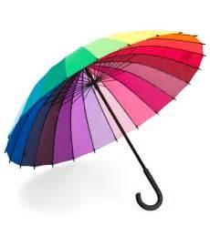 color wheel umbrella color wheel stick umbrella rainbow handle