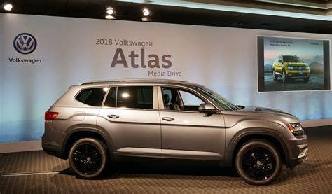 atlas volkswagen black 2018 vw atlas preview cleanmpg
