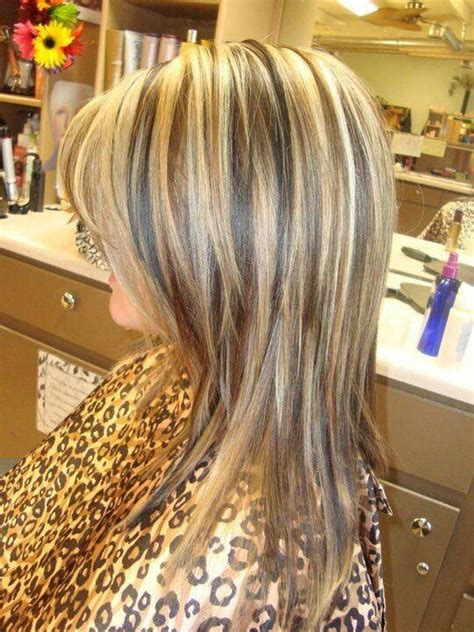 hairstyles layers with blended highlights lowlights as it grows out need to keep top layers blended well
