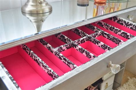 diy sock storage pink so foxy diy drawer organizers i need these for my