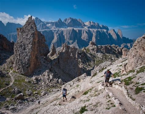 romantic hiking tour dolomites hiking dolomite mountains hike the dolomites with expert local guides
