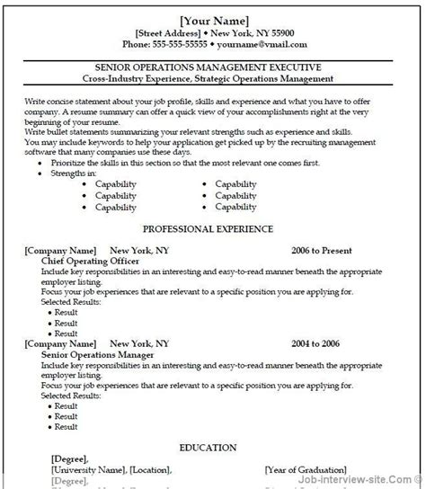 Ms Word Resume Templates by Cv Template Wordpad Http Webdesign14