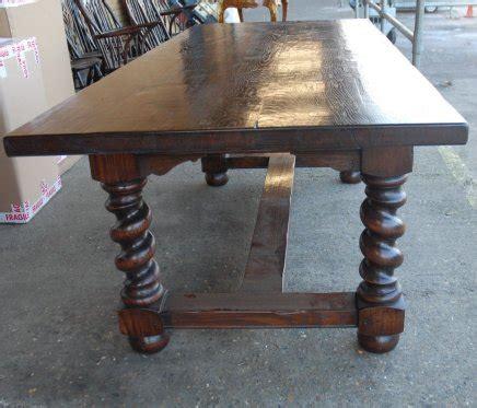 barley twist table legs for sale rustic barley twist table chair dining