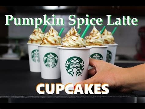 how to starbucks cupcakes youtube starbucks pumpkin spice latte cupcakes chelsweets youtube