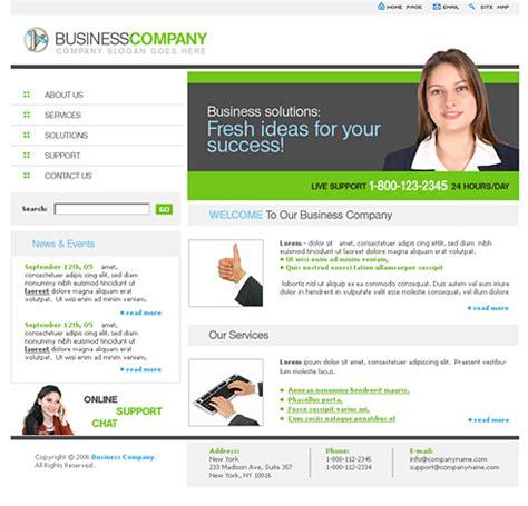Smart Business Website Template 0637 Clean Corporate Website Templates Dreamtemplate Smart Website Templates
