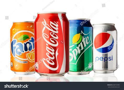 Coca Colaspritefanta moscow russia june 13 2015 cocacola stock photo 286752983