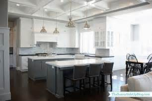 gray kitchen island kitchen islands transitional kitchen benjamin