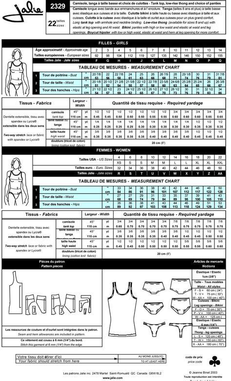 pattern review jalie jalie 2329 women s underwear