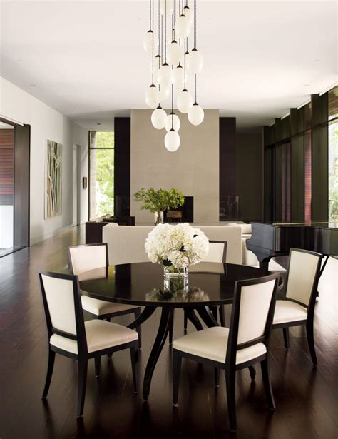 dining room modern modern dining room by carrier and co interiors by architectural digest ad designfile home