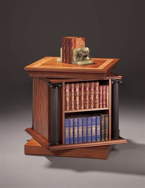 table  revolving bookcase finewoodworking