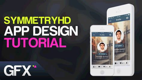 graphics design tutorial youtube graphic design tutorial social app ui ux design tutorial in adobe photoshop