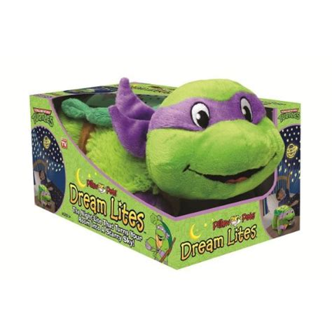 teenage mutant ninja turtle dream light save 11 04 pillow pets dream lite tnt donatello