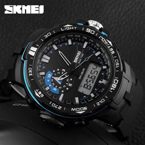 Jam Tangan Led Sport Watches jam tangan pria skmei sport led water resistant 50m