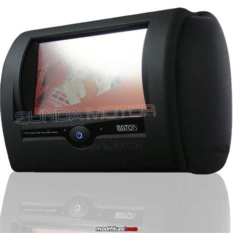 Channel Buka Tutup baru headrest monitor mobil car entertainment high