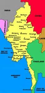 political map of myanmar justice in burma political