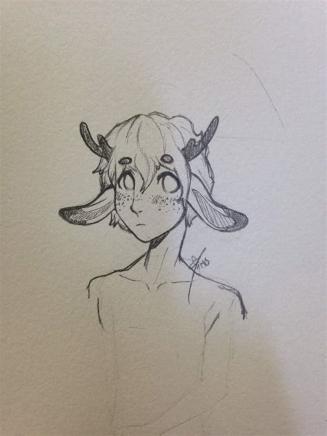 smol deer boy art amino